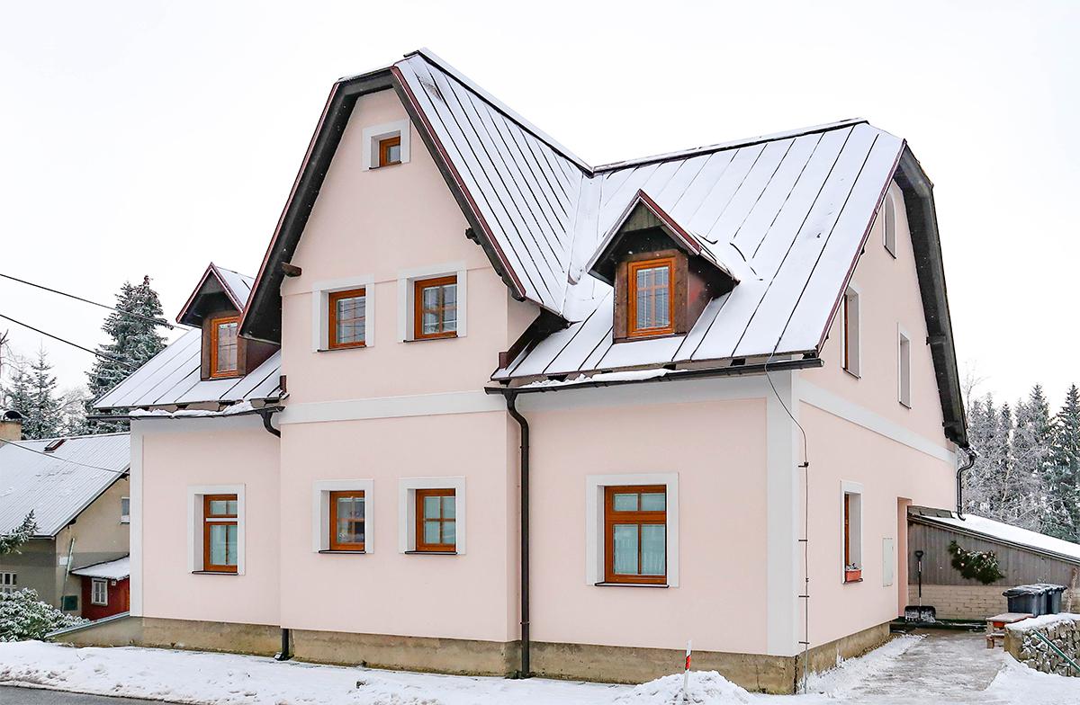 Apartmány Bedřichov 1718 - ubytování Bedřichov - chalupa 1718 - ubytování Jizerské hory - zimní sezóna v Bedřichově - thumb
